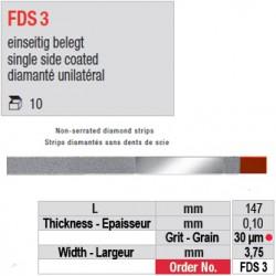 FDS 3 - diamanté unilatéral