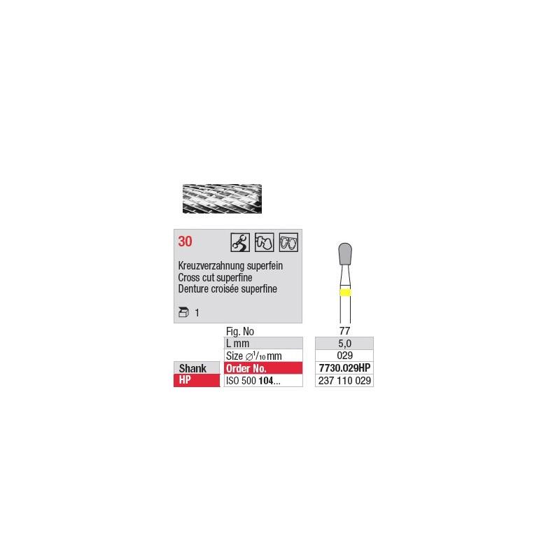 Fraise en carbure - 7730.029HP