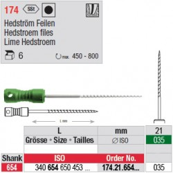 174.21.654.035 - Limes Hedstroem manuelles - courtes