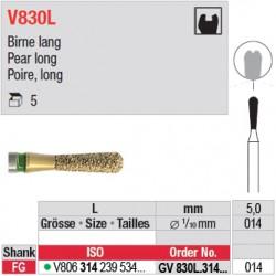 GV830L.314.014 - DIACUT - Poire, long