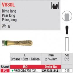 GV830L.314.016 - DIACUT - Poire, long