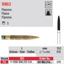 GV863.314.016 - DIACUT - Flamme