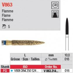 V863.314.016 - DIACUT - Flamme
