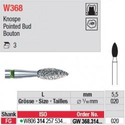 GW368.314.020 - White Tiger - Bouton
