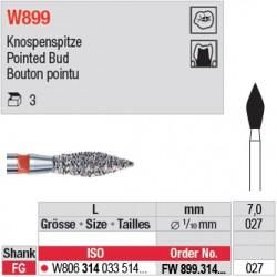 FW899.314.027 - White Tiger - Bouton pointu