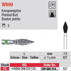 GW899.314.027 - White Tiger - Bouton pointu