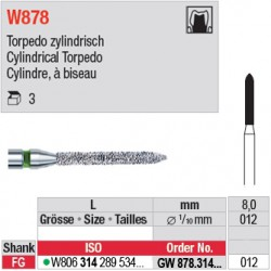 GW878.314.012 - White Tiger - Cylindre, à biseau
