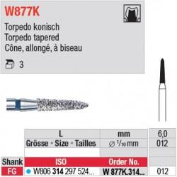 W877K.314.012 - White Tiger - Cône, allongé, à biseau