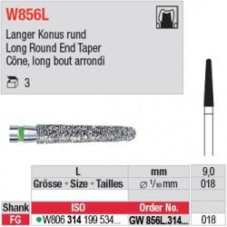 GW856L.314.018 - White Tiger - Cône, long bout arrondi