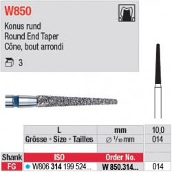 W850.314.014 - White Tiger - Cône, bord arrondi