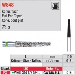 GW848.314.018 - White Tiger - Cône, bout plat