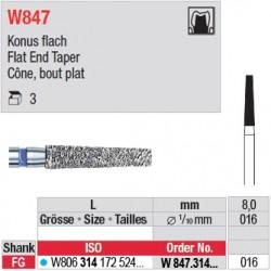W847.314.016 - White Tiger - Cône, bout plat