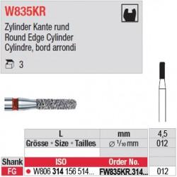 FW835KR.314.012 - White Tiger - Cylindre, bord arrondi