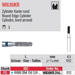 W835KR.314.012 - White Tiger - Cylindre, bord arrondi
