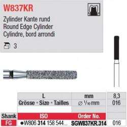 SGW837KR.314.016 - White Tiger - Cylindre, bord arrondi