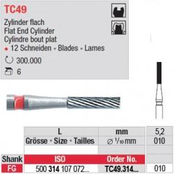 TC49.314.010 - Fraises à finir en C.T