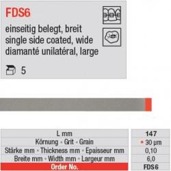 FDS 6 - diamanté unilatéral large