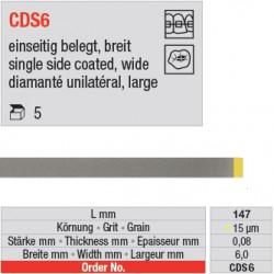 CDS 6 - diamanté unilatéral large