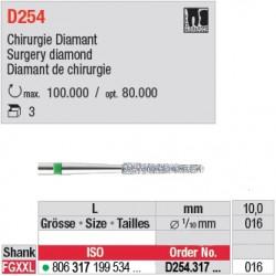 D254.317.016 - diamant chirurgie