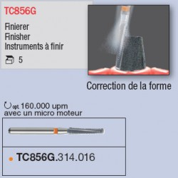 TC856G.314.016 - travail intraoral sur titane