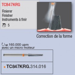TC847KRG.314.016 - travail intraoral sur titane