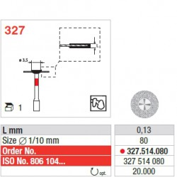 327.514.080 - CAD/CAM ZrO2 Restoration