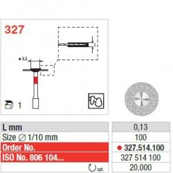 327.514.100 - CAD/CAM ZrO2 Restoration