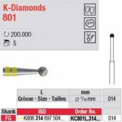 K-Diamonds - boule avec col - KC801L.314.014
