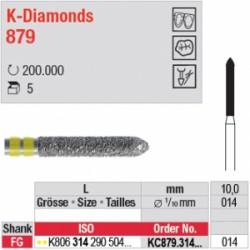 K-Diamonds - cylindre à biseau - KC879.314.014