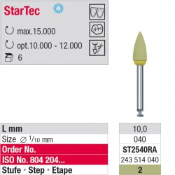 ST2540RA - StarTec RA - étape 2
