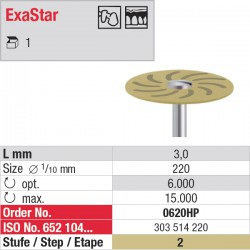 0620HP - ExaStar - étape 2
