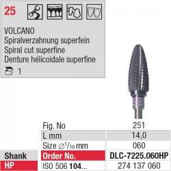 DLC-7225.060HP Volcano - denture 25