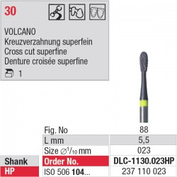 DLC-1130.023HP Volcano denture 30