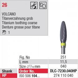 DLC-7230.040HP Volcano denture 30