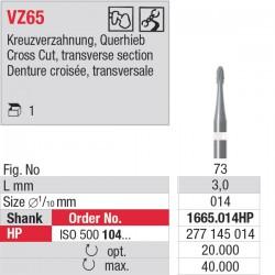 1665.014HP - fraise carbure VZ65