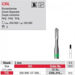 C35L.315.012  pour couronnes métalliques