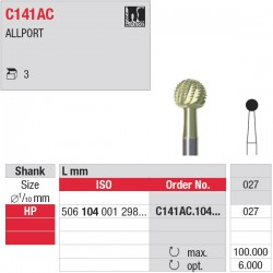 C141AC.104.027 - Fraise à os - HP