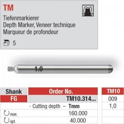 TM10.314.009 - Depth Marker TMpour le marquage de la profondeur.
