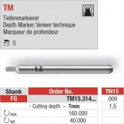 TM15.314.009 - Depth Marker TM pour le marquage de la profondeur.