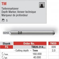 TM20.314.009 - Depth Marker TM pour le marquage de la profondeur.