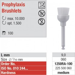 1250RA - Prophylaxis Brushlets