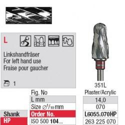 Fraise pour gaucher - L6055.070HP