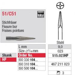 Fraises pointues - 515.023HP