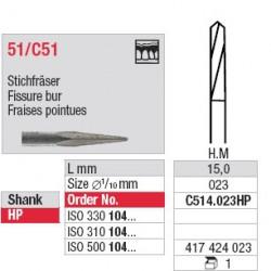 Fraises pointues - C514.023HP