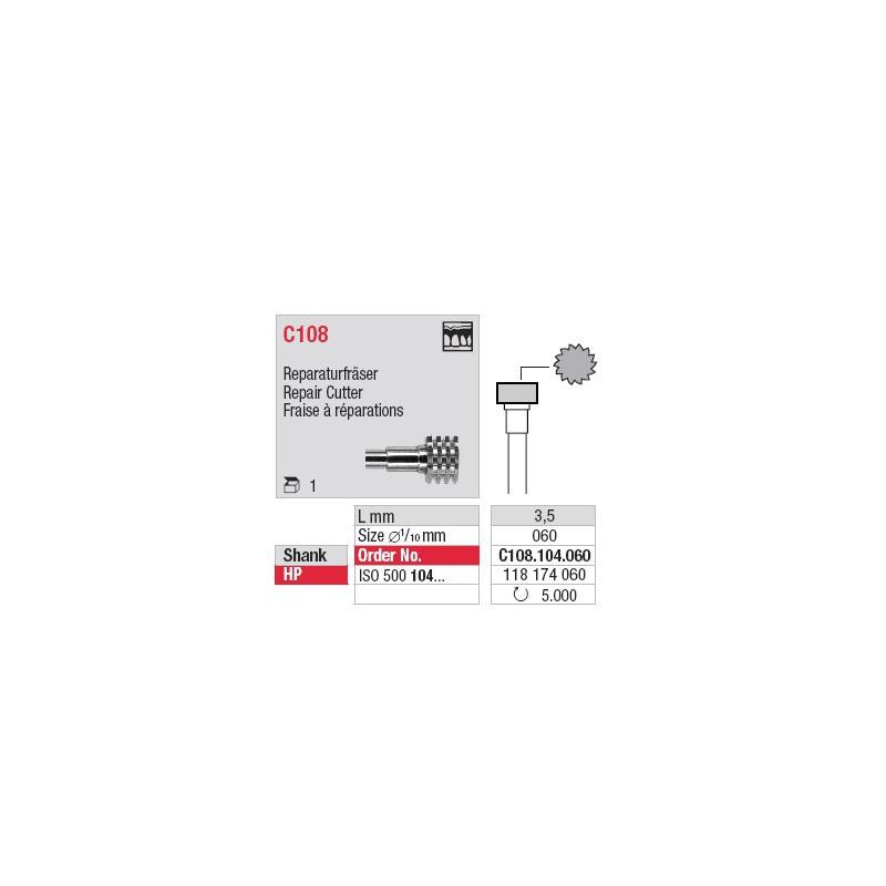 Fraise à réparations - C108.104.060