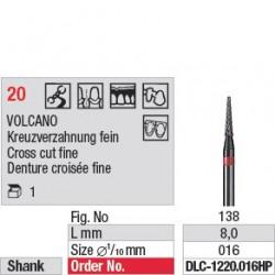 Fraise à Volcano - DLC-1220.016HP