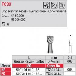 Fraises à finir - TC30.104.008