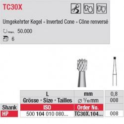 Fraises à finir - TC30X.104.008