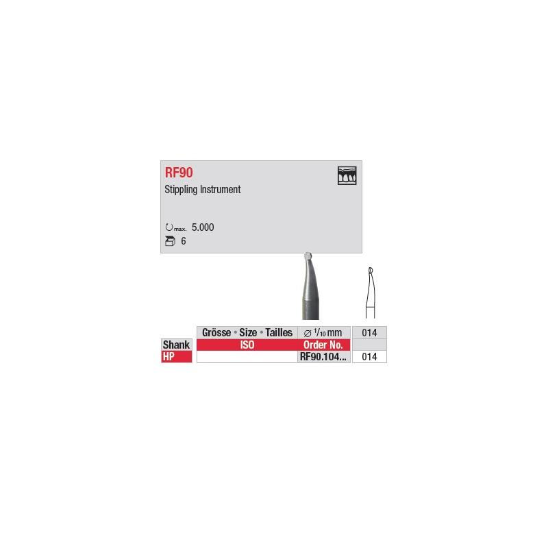 Fraise à piqueté - RF90.104.014