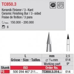 Fraise à finir - TC850.3.314.014